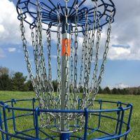 disc golf chain basket