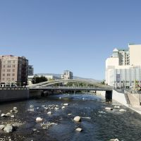 Truckee River through downtown Reno