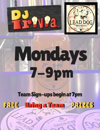 DJ Trivia, DJ Trivia at Lead Dog Brewery