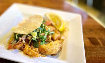 Rail City Ale House, Crab Taco
