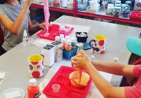 All Fired Up!, Slime Station