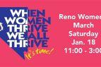 Reno- Sparks Events, Reno Women's March 2020