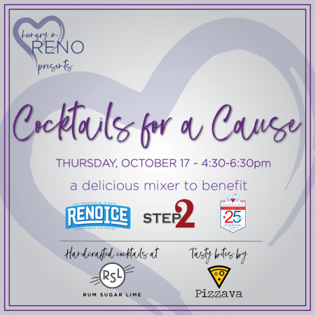 Hungry in Reno, Cocktails for a Cause: A Hungry in Reno Event