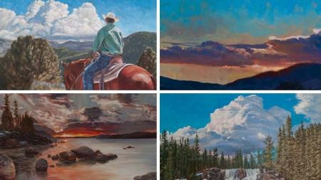 Nevada Museum of Art, Mastering the Elements of the Landscape – Sky and Clouds in Oils