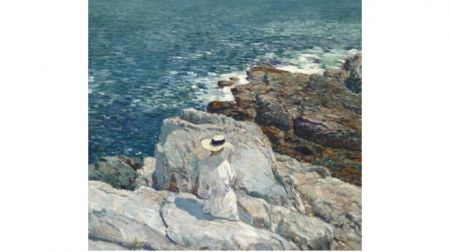 Nevada Museum of Art, Childe Hassam Inspired Oil Painting