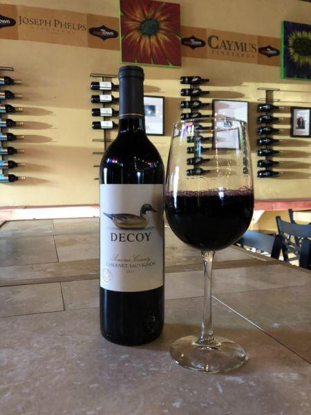 Midtown Wine Bar, Decoy Cabernet