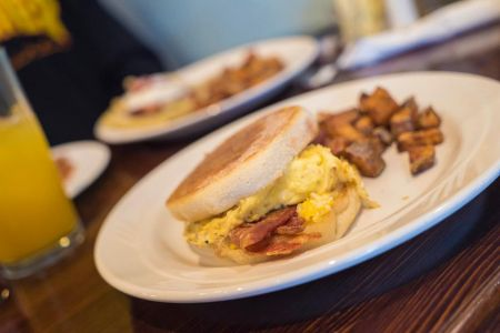 Creme Neighborhood Cafe and Catering Reno, Breakfast Sandwich