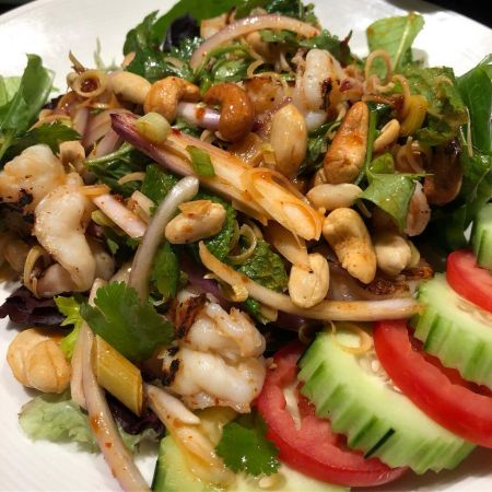 Moo Dang Thai Restaurant, Lemongrass Salad