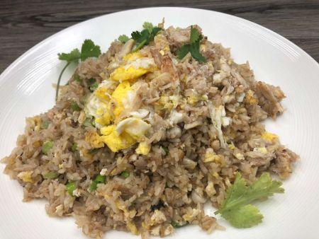 Moo Dang Thai Restaurant, Crab Fried Rice