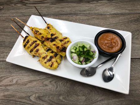 Moo Dang Thai Restaurant, Satay (4)