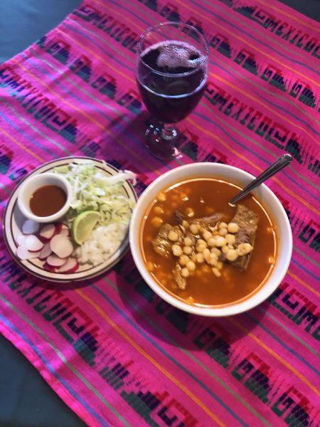 Si Amigos Mexican Restaurant, Saturdays Pork Pozole