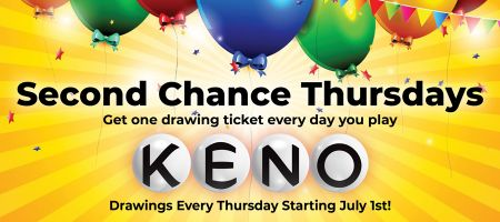 Rail City Casino, Second Chance Thursdays